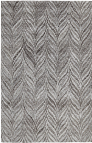 Dynamic Rugs Posh 7806 Dark Grey Area Rug main image