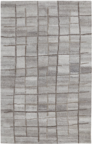 Dynamic Rugs Posh 7809 Grey Area Rug main image