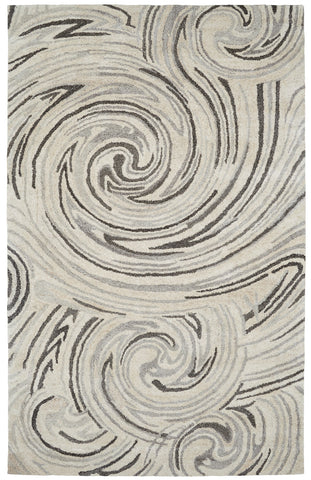 Dynamic Rugs Posh 7811 Ivory/Grey Area Rug main image