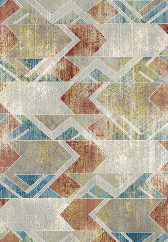 Dynamic Rugs Prism 4433 Grey/Multi Area Rug main image