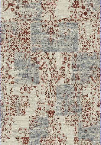 Dynamic Rugs Quartz 25010 Ivory/Red Area Rug main image