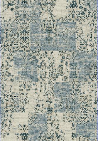 Dynamic Rugs Quartz 25010 Light Blue Area Rug main image