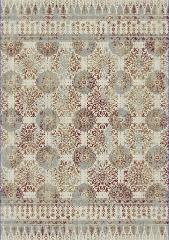 Dynamic Rugs Quartz 26110 Ivory/Red Area Rug main image