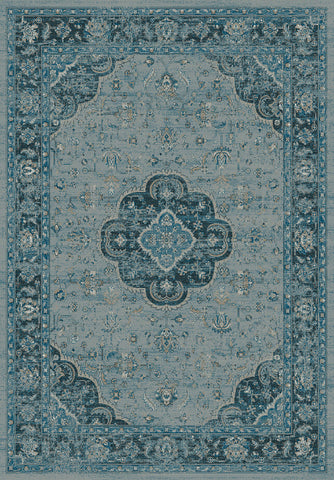 Dynamic Rugs Regal 88910 Blue Area Rug main image