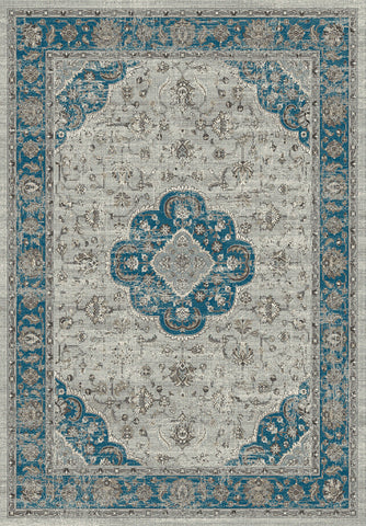 Dynamic Rugs Regal 88910 Grey/Blue Area Rug main image