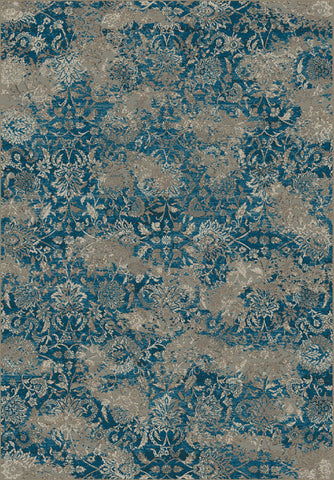 Dynamic Rugs Regal 89536 Blue/Taupe Area Rug main image