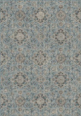 Dynamic Rugs Regal 89665 Blue/Taupe Area Rug main image