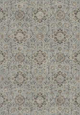 Dynamic Rugs Regal 89665 Silver/Blue Area Rug main image