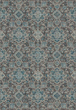 Dynamic Rugs Regal 89665 Blue/Chocolate Area Rug Main