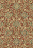 Dynamic Rugs Regal 89665 Rust/Blue Area Rug main image