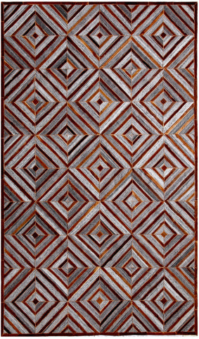 Dynamic Rugs Ritz 5945 Grey/Chocolate Area Rug main image