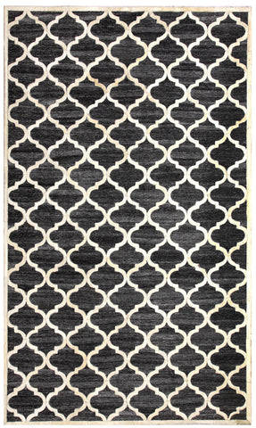 Dynamic Rugs Ritz 5967 Black/Ivory Area Rug main image