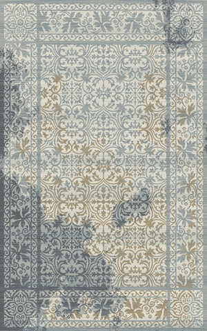 Dynamic Rugs Royal Treasure 90275 Soft Blue/Mocha Area Rug main image