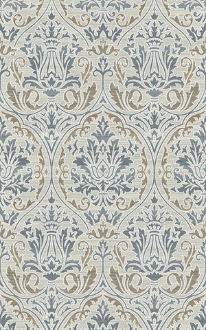 Dynamic Rugs Royal Treasure 90276 Soft Blue/Mocha Area Rug main image