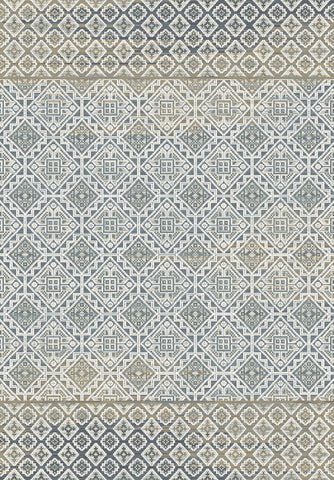 Dynamic Rugs Royal Treasure 90277 Soft Blue/Mocha Area Rug main image