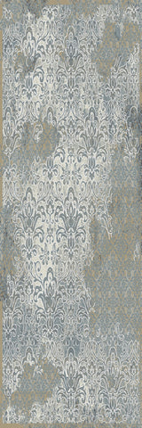 Dynamic Rugs Royal Treasure 90278 Soft Blue/Mocha Area Rug main image