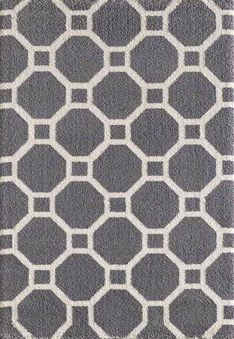 Dynamic Rugs Silky Shag 5903 Grey Area Rug main image