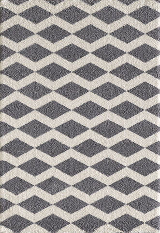 Dynamic Rugs Silky Shag 5904 Grey Area Rug main image