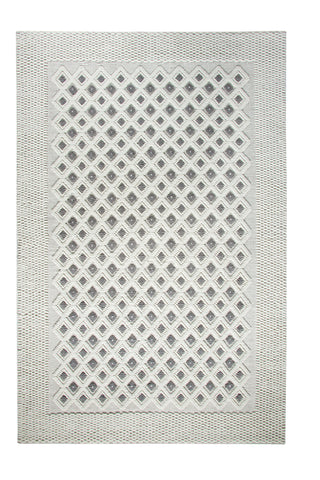 Dynamic Rugs Studio 97701 Ivory/Dark Silver Area Rug main image