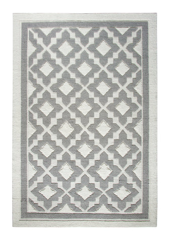 Dynamic Rugs Studio 97702 Ivory/Silver Area Rug main image