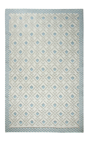 Dynamic Rugs Studio 97703 Ivory/Teal Area Rug main image