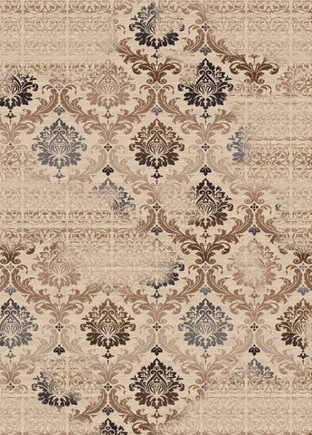 Dynamic Rugs Treasure 2198 Cream Area Rug main image