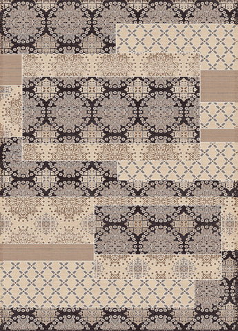 Dynamic Rugs Treasure 4464 Cream Area Rug main image
