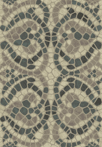 Dynamic Rugs Treasure Ii 4300 Beige Area Rug main image