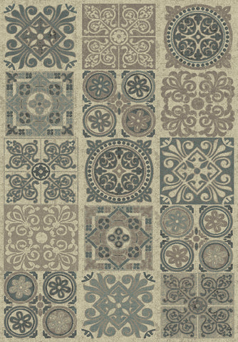 Dynamic Rugs Treasure Ii 4301 Beige Area Rug main image