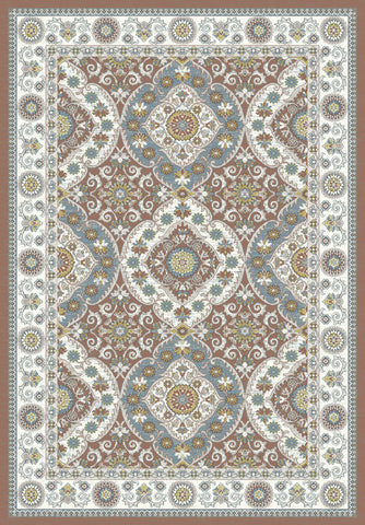 Dynamic Rugs Venice 1578 Rust/Cream Area Rug main image