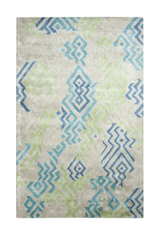 Dynamic Rugs Vogue 881000 Green/Blue Area Rug main image