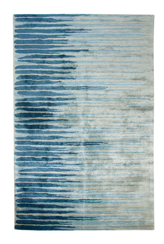 Dynamic Rugs Vogue 881002 Blue Area Rug main image