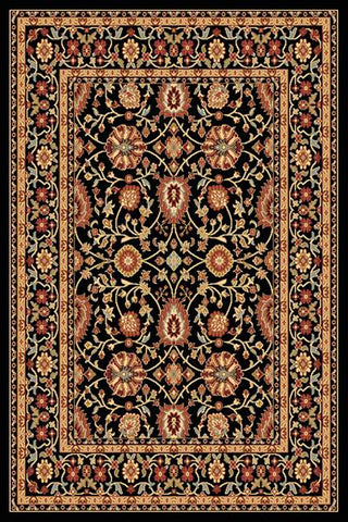 Dynamic Rugs Yazd 2803 Black/Black Area Rug main image