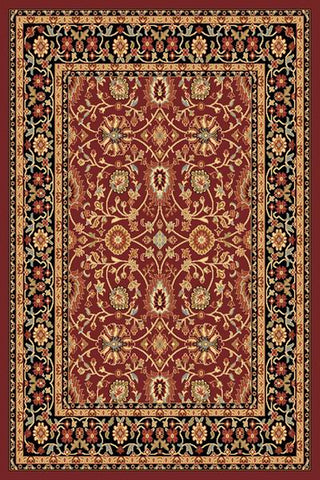 Dynamic Rugs Yazd 2803 Red/Black Area Rug main image