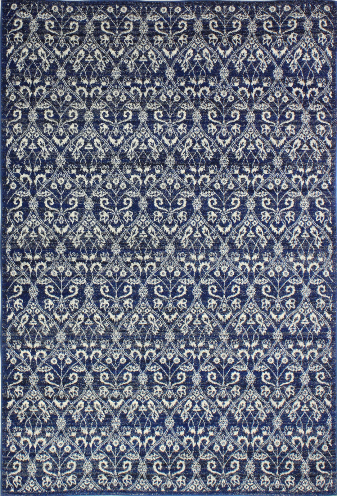 Bashian Everek E110-5439A Dark Blue Area Rug main image