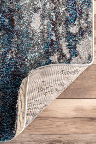 Nuloom Abstract Haydee Eccr22a Blue Area Rug Incredible