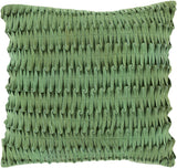 Surya Eden Criss Cross ED-001 Pillow 18 X 18 X 4 Down filled