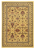Linon Elegance Collection RUG-EE03 Ivory/Ivory Area Rug main image