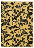 Linon Elegance Collection RUG-EE13 Cream/Green Area Rug main image