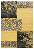 Linon Elegance Collection RUG-EE16 Cream/Grey Area Rug main image