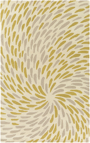 Surya Flying Colors EGF-1004 White Area Rug by Emma Gardner