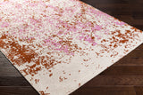Artistic Weavers Egypt Lara Carnation Pink/Dark Orange Area Rug Corner Shot