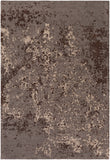 Artistic Weavers Egypt Lara Gray/Chocolate Brown Area Rug main image