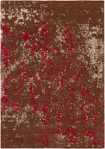 Artistic Weavers Egypt Lara Crimson Red/Burgundy Area Rug main image