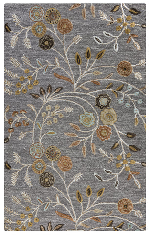Rizzy Eden Harbor EH8636 Grey Area Rug
