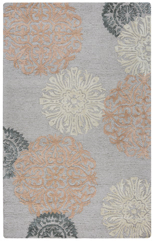Rizzy Eden Harbor EH8638 Peach/Orange Area Rug