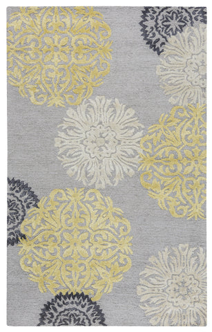 Rizzy Eden Harbor EH8639 Yellow Area Rug