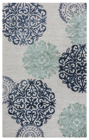 Rizzy Eden Harbor EH8640 Navy Area Rug