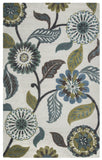 Rizzy Eden Harbor EH8642 Sage/Blue/Teal Area Rug