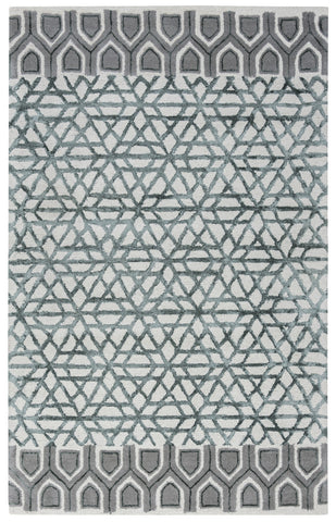 Rizzy Eden Harbor EH8810 Blue/Teal Area Rug